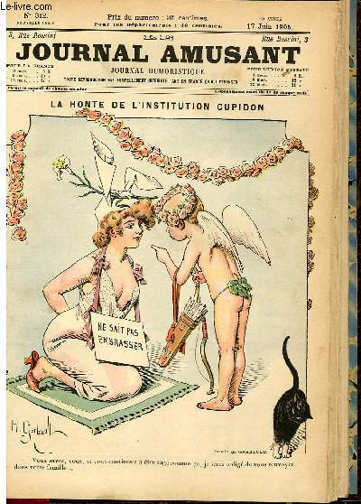 Le journal amusant - nouvelle série N°312.La honte de l'institution cupidon