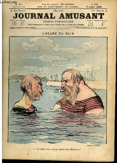 Le journal amusant - nouvelle série N°315. l'heure du bain