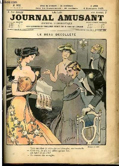 Le journal amusant - nouvelle série N°332. Le beau decolleté