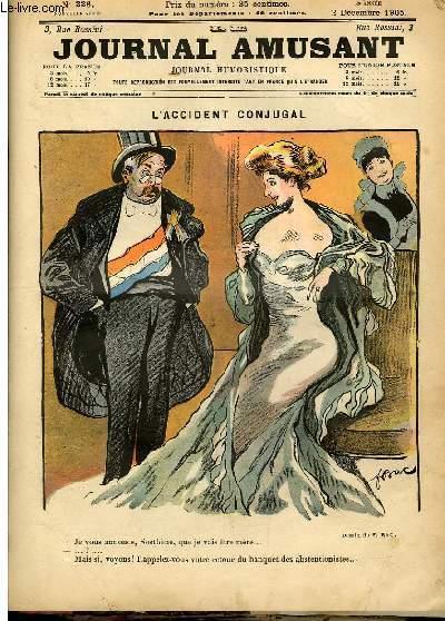 Le journal amusant - nouvelle série N°336. L'accident conjugal