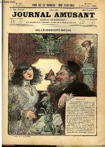 Le journal amusant - nouvelle série N°337.  Galléidocsope - revue