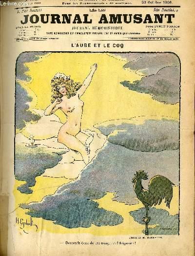 Le journal amusant - nouvelle série N°382 L'AUBE ET LE COQ