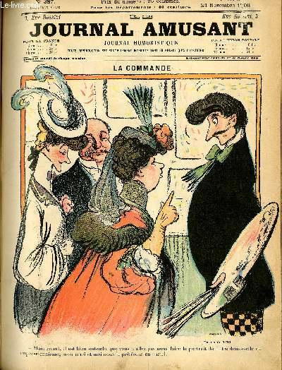 Le journal amusant - nouvelle série N°387 LA COMMANDE