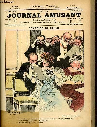 Le journal amusant - nouvelle série N°408. Comédies de salon