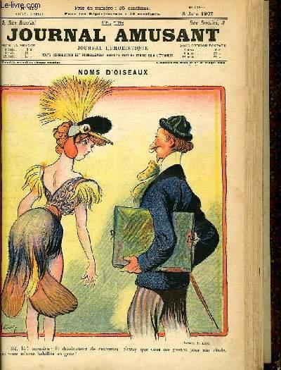 Le journal amusant - nouvelle série N°415. Noms d'oiseaux