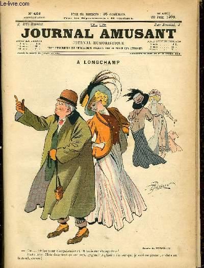 Le journal amusant - nouvelle série N°469.  A longchamps