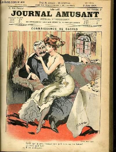 Le journal amusant - nouvelle série N°476. Connaissance de casino