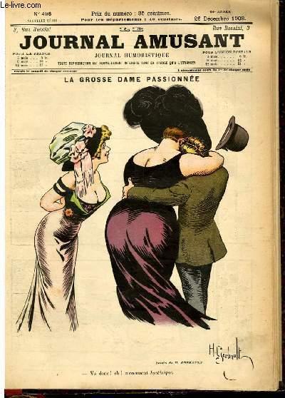 Le journal amusant - nouvelle série N°496. La grosse dame passionée