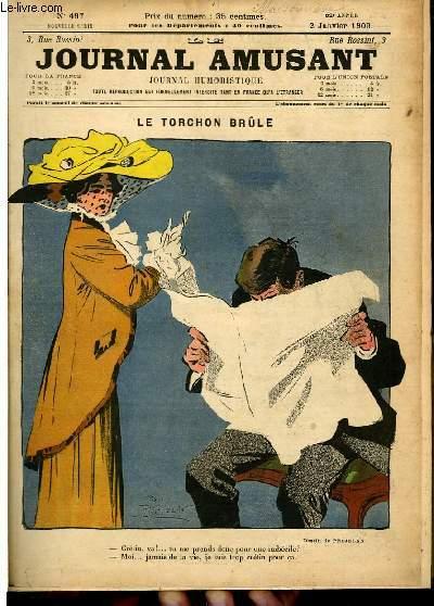 Le journal amusant - nouvelle série N°497. Le trochon brûle