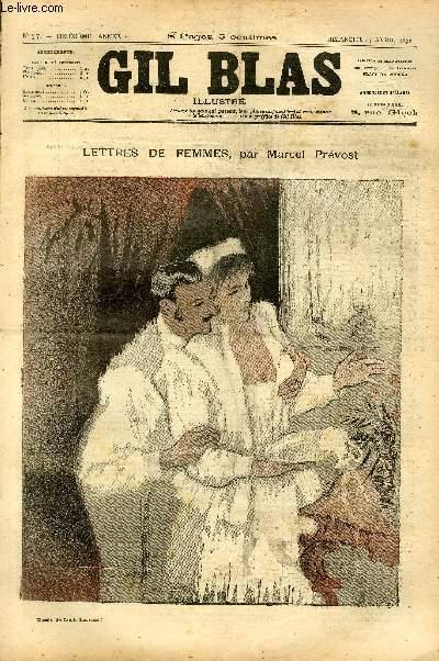 GIL BLAS - deuxième année -  N°017.DEVOUEMENT EXTRAIT DE LETTRES DE FEMMES