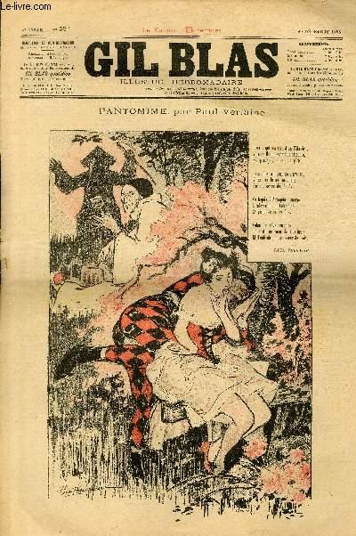 GIL BLAS - cinquième année -  N°052 - Pantomime
