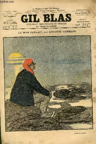 GIL BLAS - sixième année -  N°038 - La mer parlait