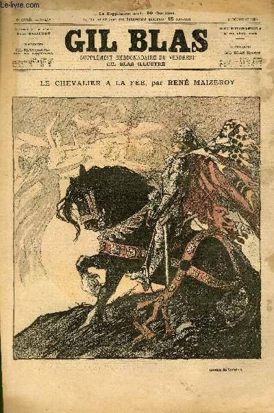 GIL BLAS - sixième année -  N°041 - Le chevalier à la fée