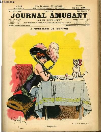 Le journal amusant - nouvelle série N°513.A monsieur de buffon