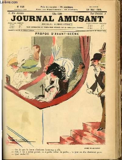 Le journal amusant - nouvelle série N°518. Propos d'avant - scène