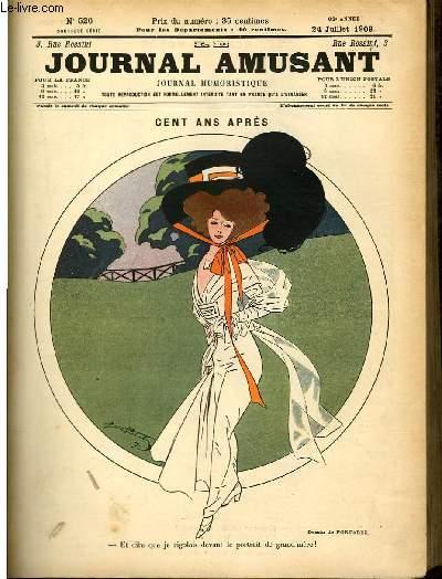 Le journal amusant - nouvelle série N°526. Cent ans après