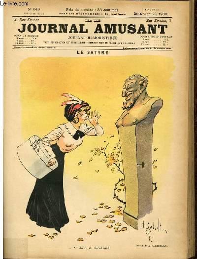 Le journal amusant - nouvelle série N°543. Le satyre