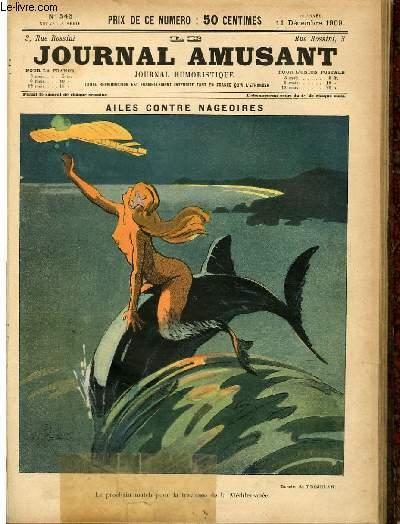 Le journal amusant - nouvelle série N°546. Ailes contre nageoires