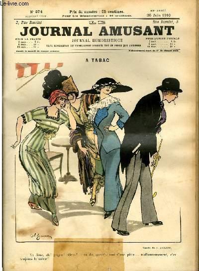 Le journal amusant - nouvelle série N°574. A tabac