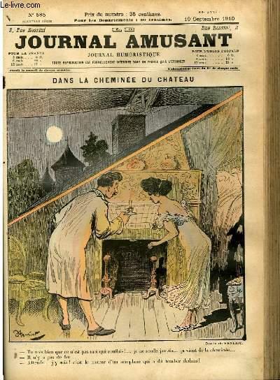 Le journal amusant - nouvelle série N°585. Dans le cheminée du chateau