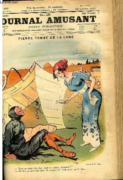 Le journal amusant - nouvelle série N°592. Pierre tombé de la lune