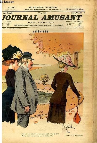 Le journal amusant - nouvelle série N°596. Aménités