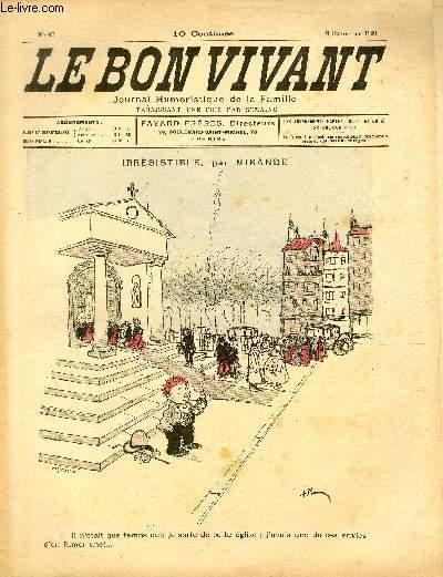 Le bon vivant n°43 - Irrésistible