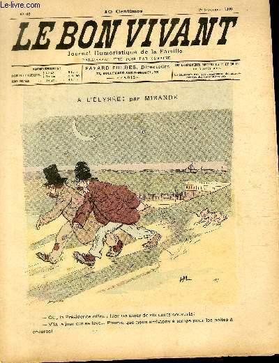 Le bon vivant n°46 - A l'Elysée