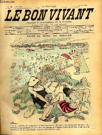 Le bon vivant n°85 - Bains de seine