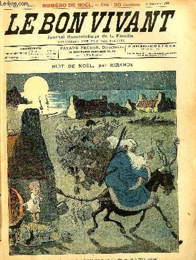 Le bon vivant n°111 - Nuit de noël (numéro spécial noël)