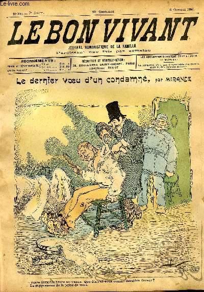 Le bon vivant n°360 - Le dernier voeur de condamné