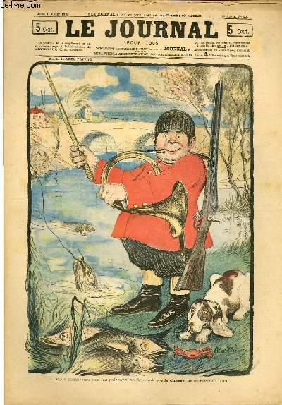 Le journal pour tous 9e année n°27 LEs poissons se figurant que je chasse, ne se méfient plus !