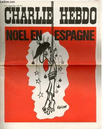 CHARLIE HEBDO N°5 - NOEL EN ESPAGNE