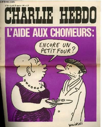 CHARLIE HEBDO N°10 - L'AIDE AU CHOMEURS