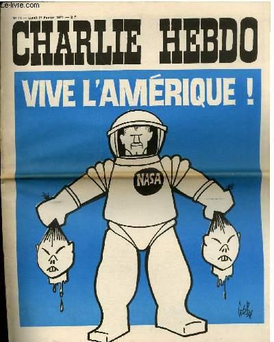 CHARLIE HEBDO N°11 - VIVE L'AMERIQUE