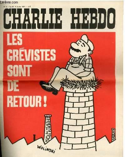 CHARLIE HEBDO N°12 - LES GREVISTES SONT DE RETOUR !