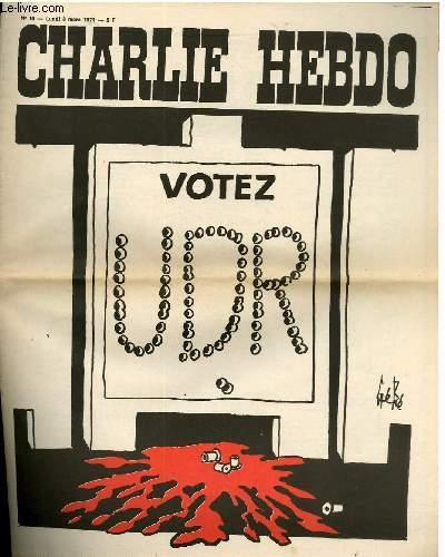 CHARLIE HEBDO N�16 - VOTEZ UDR