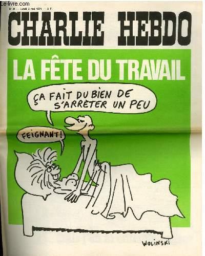 CHARLIE HEBDO N°24 - LA FÊTE DU TRAVAIL