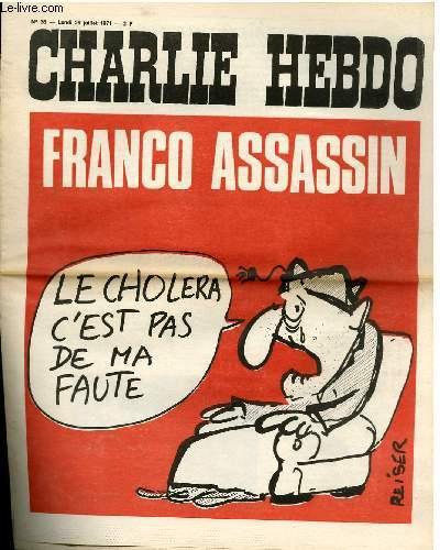 CHARLIE HEBDO N°36 - FRANCO ASSASSIN