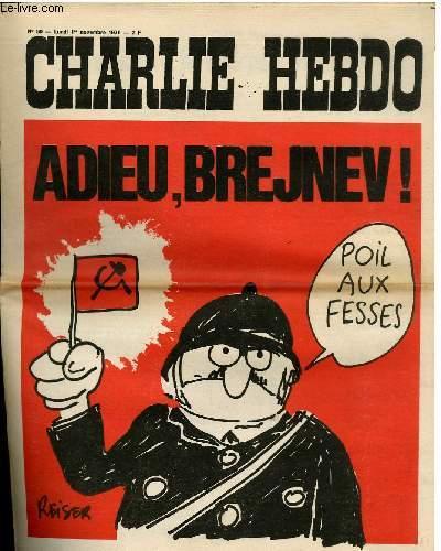CHARLIE HEBDO N°50 - ADIEU BREJVEN !