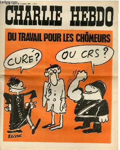 CHARLIE HEBDO N°52 - DU TRAVAIL POUR LES CHOMEURS