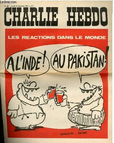 CHARLIE HEBDO N°56 - LES REACTIONS DANS LE MONDE