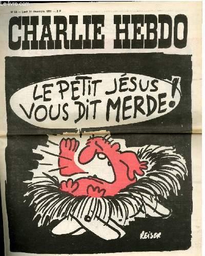 CHARLIE HEBDO N°58 - LE PETIT JESUS VOUS DIT MERDE !