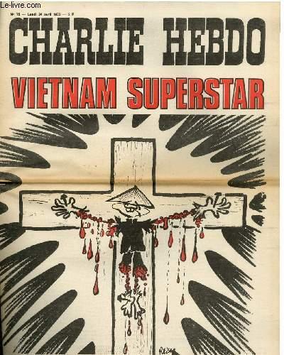 CHARLIE HEBDO N°75 - VIETNAM SUPERSTAR