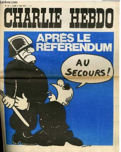 CHARLIE HEBDO N°76 - APRES LE REFERENDUM