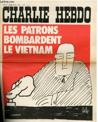 CHARLIE HEBDO N°78 - LES PATRONS BOMBARDENT LE VIETNAM