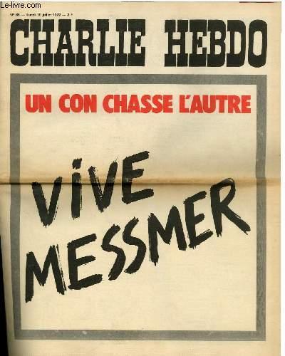 CHARLIE HEBDO N°86 - UN CON CHASSE L'AUTRE