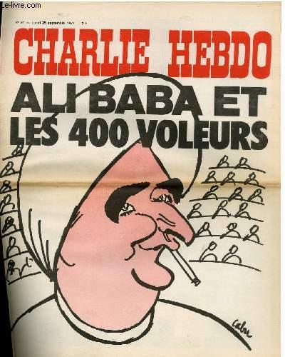 CHARLIE HEBDO N°97 - ALI BABA ET LES 400 VOLEURS