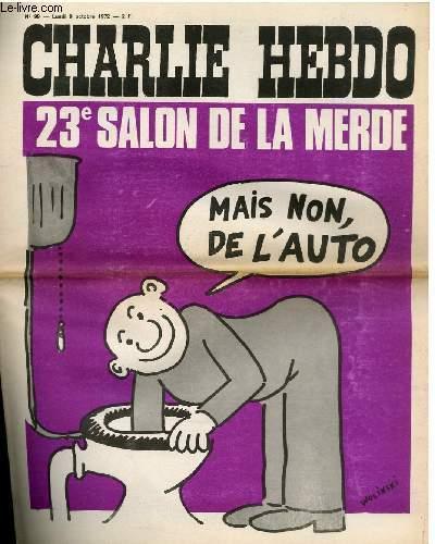 CHARLIE HEBDO N°99 - 23e SALON DE LA MERDE