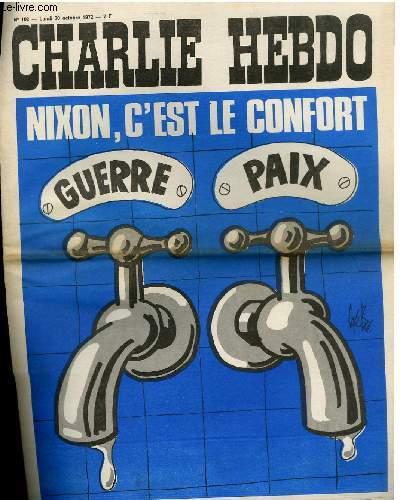 CHARLIE HEBDO N°102 - NIXON, C'EST LE CONFORT
